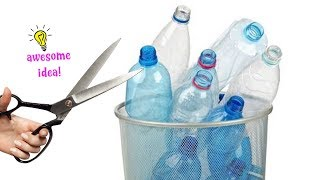 Download 4 INNOVATIVE WAYS TO REUSE/RECYCLE PLASTIC BOTTLES! Best Reuse Ideas Video