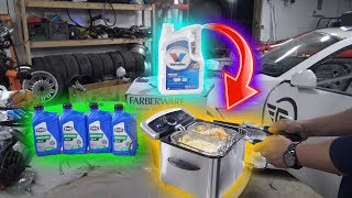 Download Can You DEEP FRY FOOD with ENGINE OIL? Video