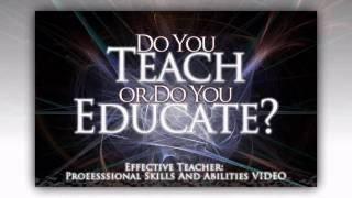 Download Effective Teacher: Professional Skills & Abilities Video Video