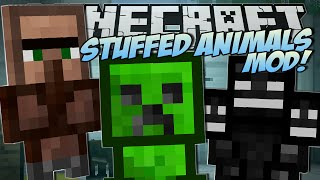Download Minecraft | STUFFED ANIMALS MOD (Lucky Presents & Trayaurus Plushies!) | Mod Showcase Video