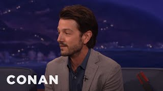 Download Diego Luna On President-Elect Trump - CONAN on TBS Video
