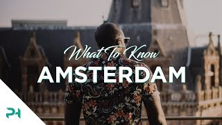 Download Amsterdam: What To Know Before Going Video