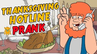 Download Thanksgiving Turkey Hotline Prank - Ownage Pranks Video