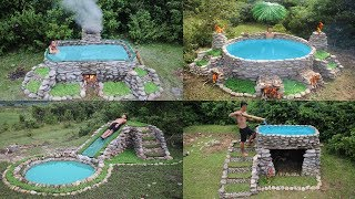 Download Best Build Swimming Pool With Primitive Technology Video