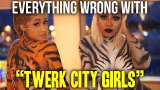 Download Everything Wrong With City Girls - ″Twerk ft. Cardi B″ Video