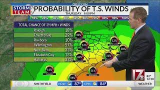 Download Paul Heggen's noon Dorian forecast Video