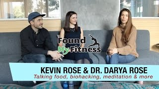 Download Dr. Darya and Kevin Rose Talk Meditation Retreats, Diet, Natto, Seasonal Eating and More Video