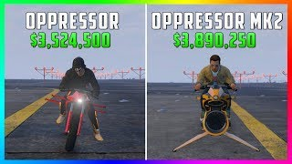 Download GTA 5 Online - Oppressor MK2 Vs Oppressor ($3,890,250 Vs $3,524,500) Video