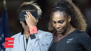Download [FULL] 2018 US Open trophy ceremony with Serena Williams and Naomi Osaka | ESPN Video