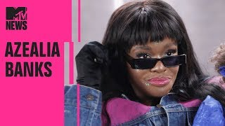 Download Azealia Banks on the Origins Of 'Anna Wintour' & Her Seapunk Aesthetic | MTV News Video