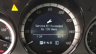 Download 2010 Mercedes Benz C300 service B1 Video