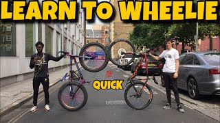 Download HOW TO WHEELIE (ANY) BIKE!!! Video