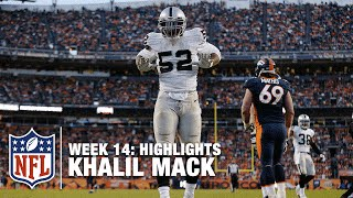 Download Khalil Mack's 5 Sack Day! (Week 14) | Raiders vs. Broncos | NFL Video