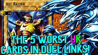 Download The Top 5 WORST UR Cards in Yu-Gi-Oh! Duel Links! Video