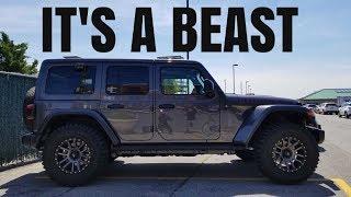 Download 2018 Jeep Wrangler JL Rubicon Unlimited Walk Around! $62K!!! Video