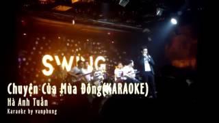 Download Chuyện của mùa đông - Beat karaoke TÔNG THẤP (Dễ hát) Video