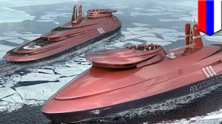 Download Russia to build futuristic nuclear-powered icebreaker to keep Northern Sea Route open - TomoNews Video