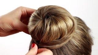 Download Делаем прическу пучок с помощью валика ″Бублик″. Bagel Beam Hairstyle Video