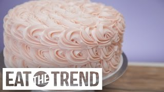 Download Magnolia Bakery's Tips to Frosting Their Rosette Cake | Eat the Trend Video