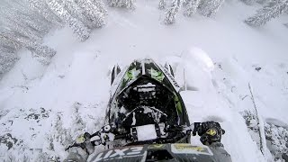 Download Best snowmobile scenes Video