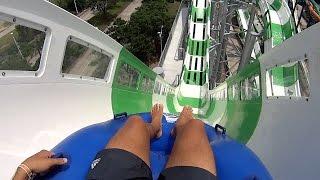 Download Massiv Monster Blaster Water Slide at Schlitterbahn Galveston Video