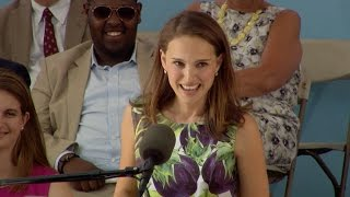 Download Natalie Portman Harvard Commencement Speech | Harvard Commencement 2015 Video