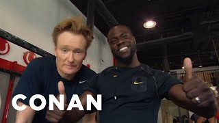 Download Conan Hits The Gym With Kevin Hart - CONAN on TBS Video
