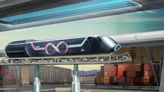 Download World's first full-size hyperloop test in Las Vegas; High-speed rails in USA - Compilation Video