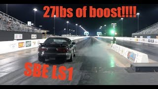 Download Turbo Trans am makes 27lbs of boost on SBE LS1 by ACCIDENT!!!! Video