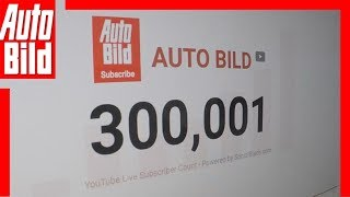 Download AUTO BILD sagt DANKE für 300.000 Abonnenten! Video