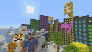 Download Minecraft XBOX - Hide and Seek - Youtubers City Video