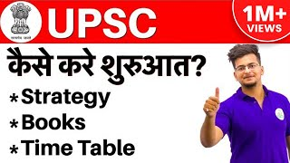 Download कैसे करे तैयारी I Strategy for UPSC CSE 2019 | Books, Time Table | Everything You Should Know Video