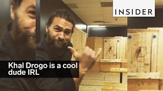 Download Khal Drogo from Game of Thrones is a cool dude IRL Video
