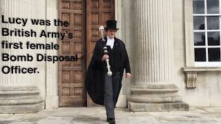 Download UK's first female bomb disposer becomes our University Marshal Video