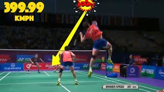 Download 20 Fastest SMASHES in Badminton Video