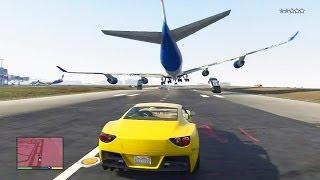 Download GTA 5 #22: Perseguição Épica / Salto do Avião para a Piscina - PS3 / Xbox 360 HD Gameplay Video