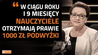 Download Anna Zalewska: rozpoczęliśmy cykl podwyżek dla nauczycieli Video
