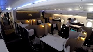 Download British Airways FIRST CLASS on the A380 full flight video review HD Video