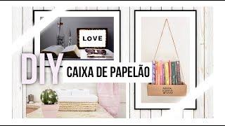 Download 3 MANEIRAS DE REUTILIZAR CAIXA DE PAPELÃO Video