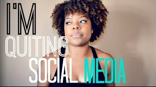 Download I'm Quitting Social Media Video