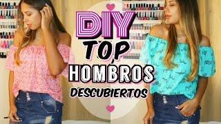 Download DIY TOP HOMBROS Descubiertos | Off the Shoulder | Mirianny Video