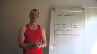 Download 3 Top Tapering Tips Video
