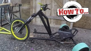 Download How To Build: A Homemade Drift Trike on a budget Part 1 Video