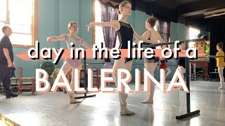 Download DAY IN THE LIFE OF A DANCER (class, pointe shoes, rehearsal) Video