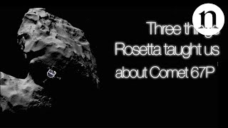 Download Three things Rosetta taught us about Comet 67P Video