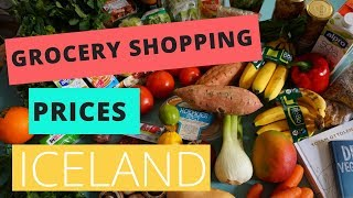 Download Grocery Shopping Prices in Iceland Video