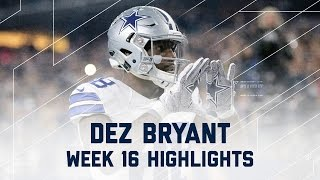 Download Dez Bryant 3 Total TD Game! | Lions vs. Cowboys | NFL Week 16 Player Highlights Video