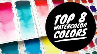 Download Top 8 Watercolor Colors Video