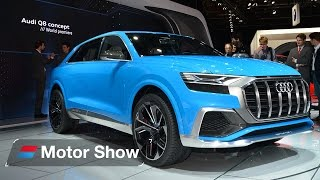 Download 2018 Audi Q8 – First Look at the Detroit Motor Show Video