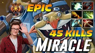 Download Miracle Techies 45 Frags | EPIC 2 Hours Game | Dota 2 Pro Gameplay Video
